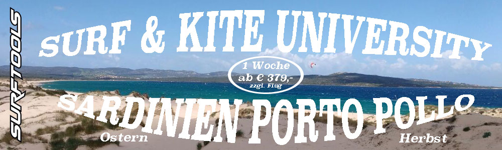Kite, Surf, Foil & SUP University Sardinien Porto Pollo